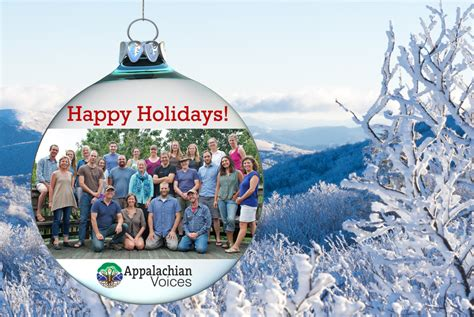 Happy Holidays From Our Family To Yours> Appalachian Voices