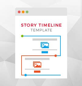 Timeline Template For Story by Designer Layout Plugin Design