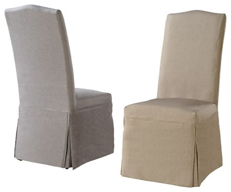 linen slipcover chair camden linen chairs with slipcovers set of 2