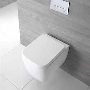 Was Bedeutet Wc : h nge wc quadratisch sitz mit absenkautomatik milton ~ Frokenaadalensverden.com Haus und Dekorationen