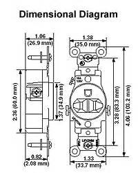 leviton 5821 i 20 amp 250 volt nema 6 20r 2p 3w With 20r wiring diagram