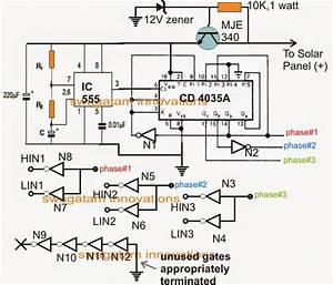 Solar 3 Phase Inverter Circuit