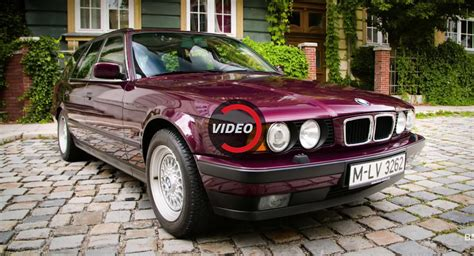 Bmw Remembers Third-gen E34 5-series, You Should Too