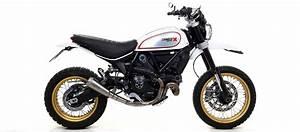 Ducati Scrambler 800 : pro race titanium racing half system exhaust by arrow ducati scrambler 800 desert sled 2017 ~ Medecine-chirurgie-esthetiques.com Avis de Voitures