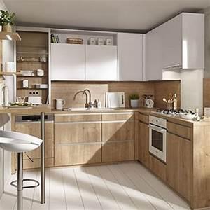 Cuisine équipée Bois : charmant cuisine equipee en bois 5 toutes nos cuisines ~ Premium-room.com Idées de Décoration