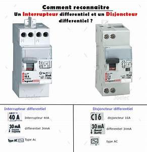 quelle difference entre un differentiel type a ou ac With combien d interrupteur differentiel dans une maison