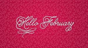 Hello February Wallpaper