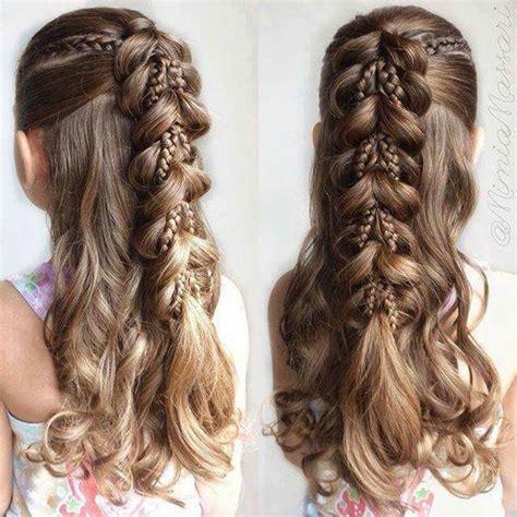 lange haare sommer  frisuren frisuren fuer kleine
