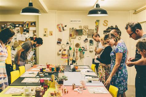 designer workshop surroundings