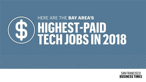 The 15 Highest Paying Bay Area Tech Jobs In 2018