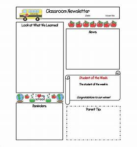 free newsletter template 9 free word pdf documents With student newsletter templates free