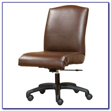 wooden armless swivel desk chair desk home design