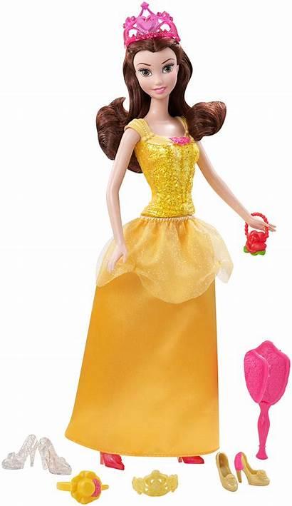 Belle Doll Disney Princess Sparkle Accessories Dolls