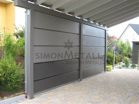Wandpaneele Garage by Carports Simonmetall Gmbh Co Kg In Tann Rh 246 N G 252 Nthers