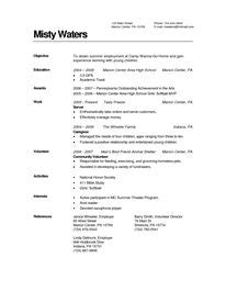In Home Child Caregiver Resume by 1000 Images About Resume On Professional