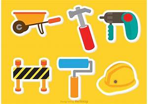Architecture Tools Sticker Vectors - Download Free Vector ...