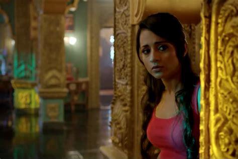 Trisha Tamil Actress Hot Gallery In Aranmanai 2