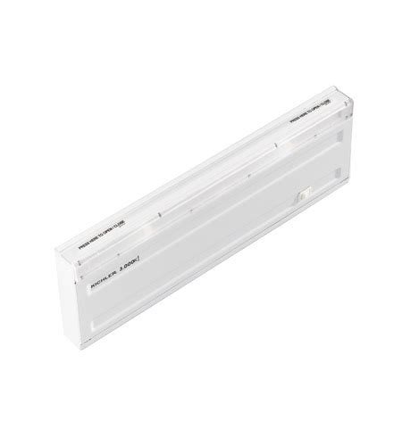 kichler direct wire led led cabinet in white 12066wh30