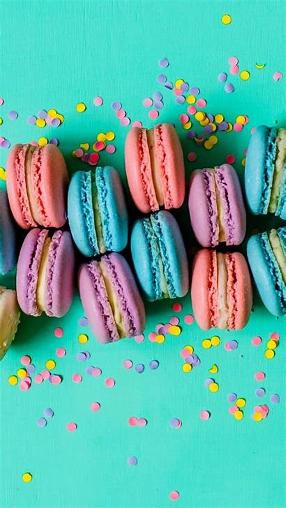 Sweets Macaron Background Colorful Alpha Xperia Sony