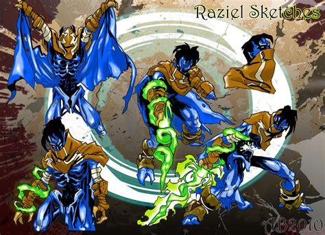 Soul Reaver Raziel Poses01 By Alexbaxthedarkside On Deviantart