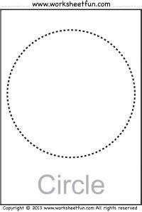 shapes circle triangle square rectangle rhombus