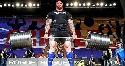 Bjornsson Record Arnold Deadlift Strongman Strongest Thor