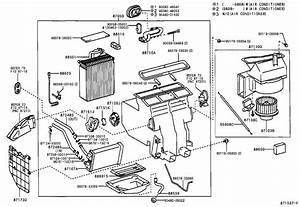 2001 Toyota Camry Hvac Heater Core  Unit  Heater Radiator