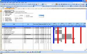 Gantt Chart Excel 2010 Template Cool Table Plan Free Template Project Me