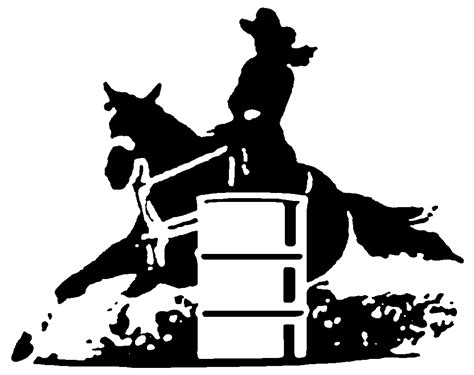 barrel racing clipart clipground
