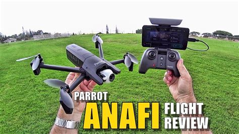 parrot anafi review flight test  depth pros cons youtube