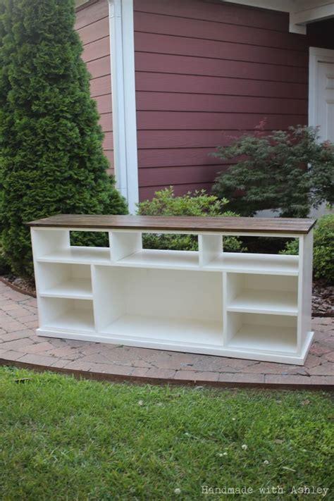 diy apothecary console plans  ana white handmade