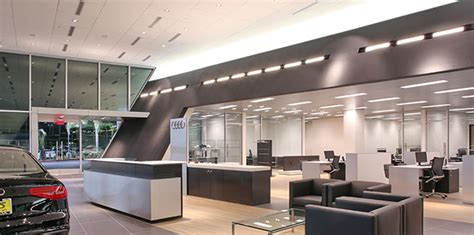 audi dealership interior lusardi builds commercial construction keyes audi of