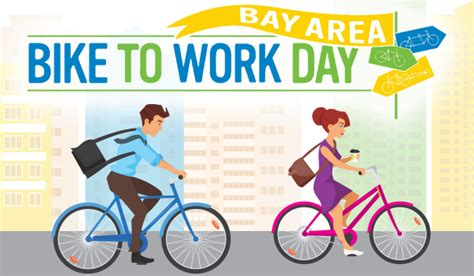 Bike To Work 1 bay area bike to work day 2018 your town monthly