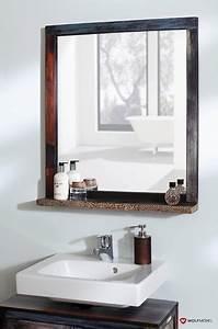 Spiegel Bad Mit Ablage : bad spiegel mit ablage metallapplikation 3550 goa ~ Michelbontemps.com Haus und Dekorationen