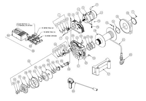Warn 1000 Ac Winch Motor Wiring Diagram by Warn 1000 Ac Winch Motor Wiring Diagram Auto Electrical