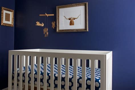 max s navy and gold nursery