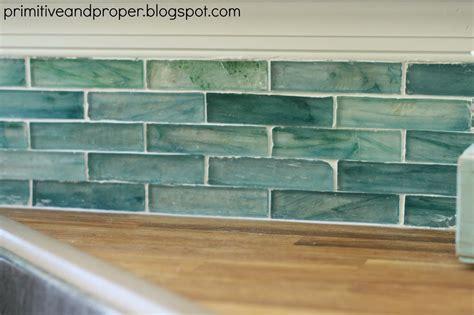 Recycled Tile Backsplash : Diy Recycled Glass Backsplash With The Tile Shop