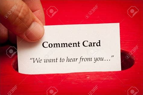 customer comment cards psd eps google docs word
