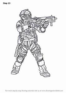 learn how to draw cooper from titanfall 2 titanfall