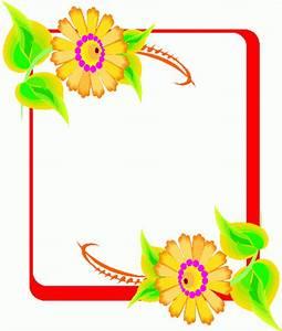 Flower Frame Clip Art - ClipArt Best