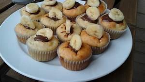 Bananen Joghurt Muffins : bananen nutella muffins von elenad ~ Lizthompson.info Haus und Dekorationen