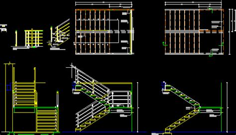stair details  autocad  cad   kb