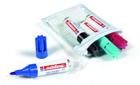 plastik wasserfest bemalen edding 0 5 permanentmarker karminrot 10er pack rundspitze 1 5 3 mm 4 05 10019