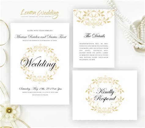 traditional wedding invitations lemonwedding