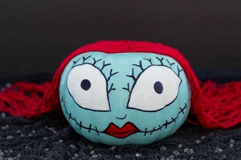 How To Make A Sally Skellington Pumpkin   Fun Money Mom