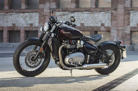 2017 Triumph Bonneville Bobber Review