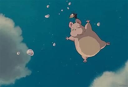Falling Spirited Away Gifs Fat Water Sky