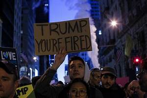 Trump and his aides plan next moves as protests spread