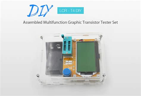 lcr  diy assembled multifunction graphic transistor