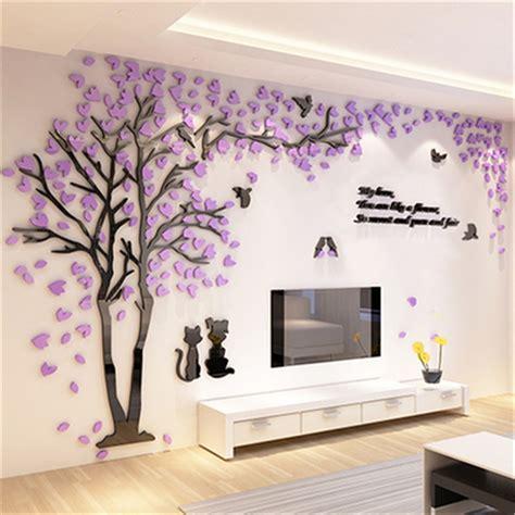 Aliexpresscom  Buy Creative Couple Tree 3d Sticker